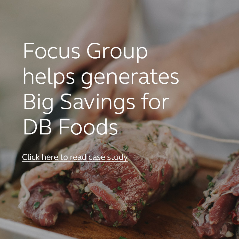 DB Foods Case Study | Focus Group