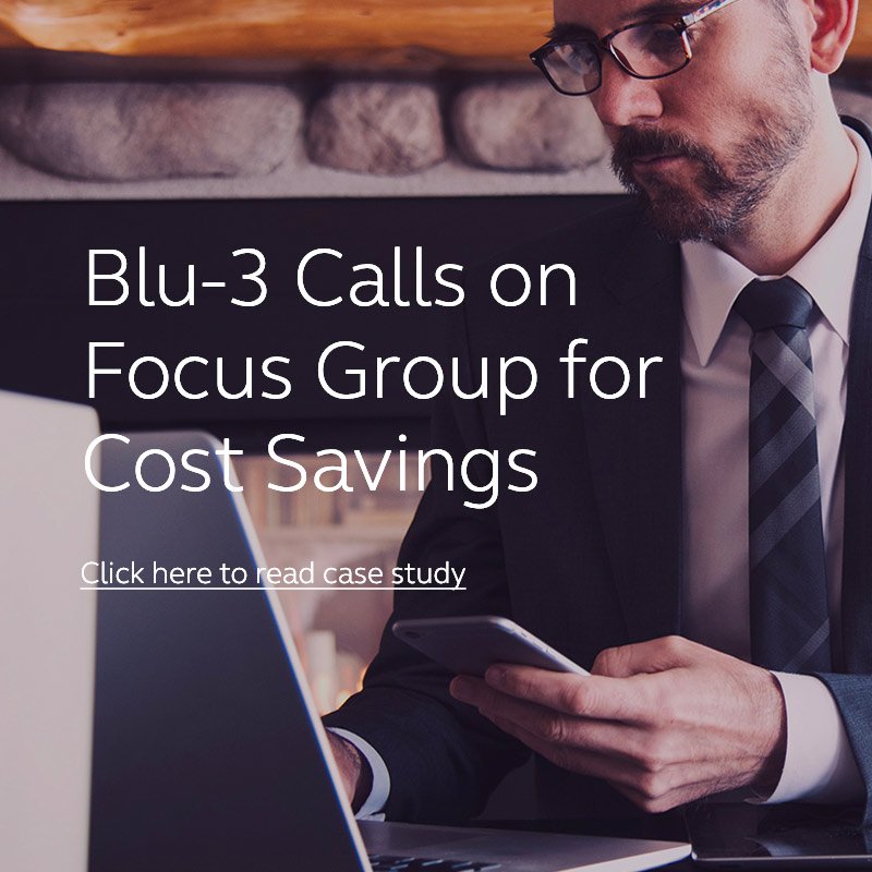 Blu-3 Case Study | Focus Group