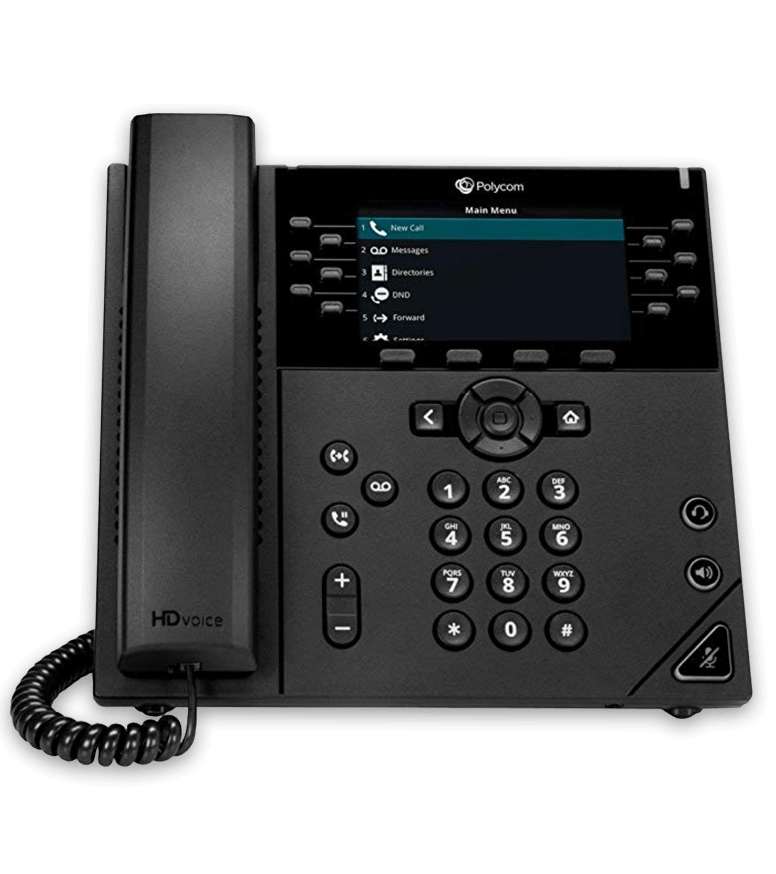 Poly VVX450 Hosted Phone System