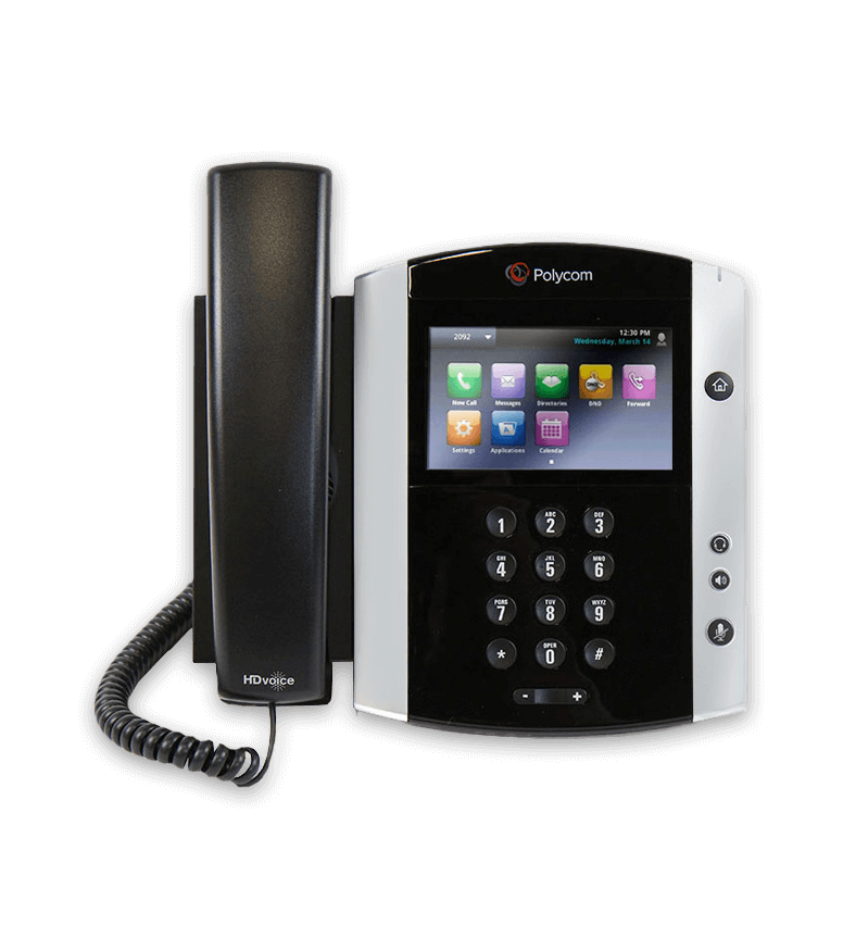 Poly VVX600Hosted Phone System